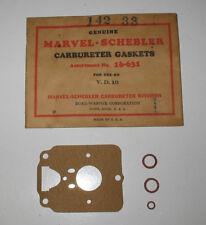 Borg-Warner Marvel-Schebler Carbureter Gasket No. 16-631 for V.D.10