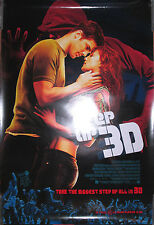 STEP UP 3D, double-sided movie promotional poster, 2010, 27x40, EX, dance