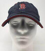 New Era MLB Boston Red Sox Baseball Cap Hat Cotton OSFM Strapback Blue