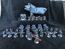 warhammer 40k Space Marines Army Space Wolves Fully Painted