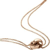 DKNY NJ1798040 Ladies PVD Rose Plated Necklace