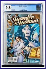 Wonder Woman #6 CGC Graded 9.6 DC May 2007 White Pages Comic Book