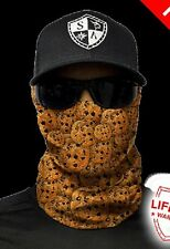 SA CO Official Cookies Face Shield Sun Mask Balaclava Neck Gaiter Bandanna USA