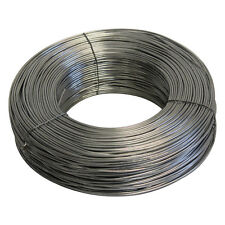 More details for tension straining wire line fencing 2.5mm x 100m galvanised steel cable fence