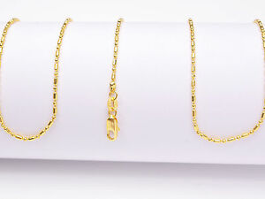 """1PCS Wholesale 28"""" nice 18K Yellow GOLD Filled BALL CHAIN NECKLACES For Pendant"""