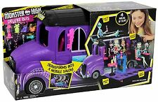 Monster High Deluxe School Bus & Spa Playset  ~BRAND NEW~