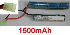 Batterie 8.4V 1500mAh type NS120C33MT Connecteur Mini Tamiya Pour Airsoft Gun