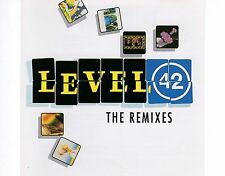 CD LEVEL 42 the remix 1992 EX