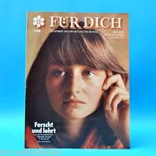 DDR FÜR DICH 5/1981 Karin Kania Schnett Humboldt-Uni BAM ABI Eisschnelllauf Prag