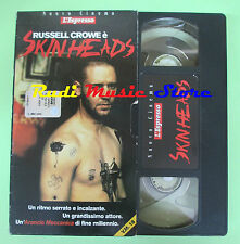 film VHS cartonata SKIN HEADS Russel Crowe Geoffrey Wright L'ESPRESSO(F44)no dvd