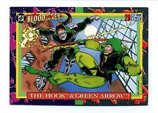 Skybox 1993 DC Bloodlines Base Card #29 The Hook & Green Arrow!