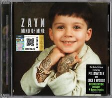 ZAYN MALIK (ONE DIRECTION) Mind Of Mine MALAYSIA DELUXE CD +FOLD POSTER RARE NEW