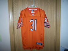 CHICAGO BEARS VASHER REEBOK  AUTHENTIC  JERSEY SIZE  YOUTH  LARGE 18-20 SEWN
