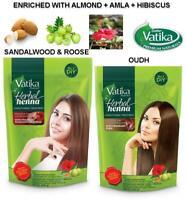 Vatika Herbal Henna Intensive Natural Hair Colour Tint Conditioning Powder 200g