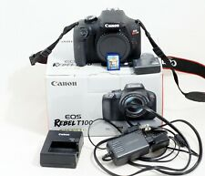 MINT Canon EOS 4000D Rebel T100 DSLR Digital Camera Body ONLY 1K SHUTTER COUNT