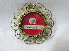 ✝ Reliquary Relic 1st Class St. Anthony of Padua Doctor of the Church, confessor