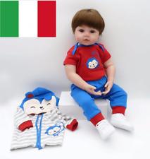 "47CM18"" Bambole Sale Lifelike Silicone Reborn Baby Doll Bambole Rinascere Gift"