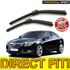 Quality Front Wiper Blades Vauxhall Insignia Wipers Pair Direct Fit Flat 2008 >