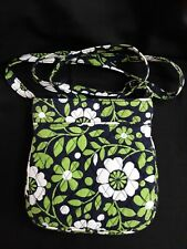 "Vera Bradley "" Lucky You""  Cross Body Hipster Purse Bag Navy, Green, White"