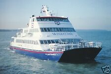 "zwei AK, Wigtlink Fast Ferry ""Our Lady Pamela"", Fähre, Katamaran, um 1996"