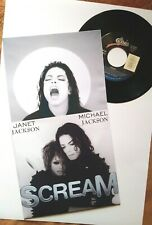 "MICHAEL & JANET JACKSON - SCREAM - 7"" US VINYL - WITH UNIQUE PIC SLEEVES"