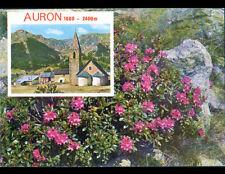 AURON (06) VILLAS & EGLISE / Décor Floral en été 1978