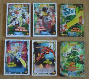 Lego Ninjago Serie 5 Next Level Up Ultra Basiskarten limitierte Karten LE1-LE18