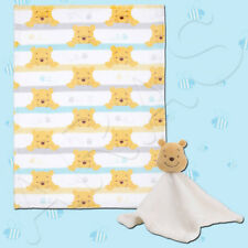 Winnie The Pooh: Together Forever Blanket & Security Blanket by Disney Baby