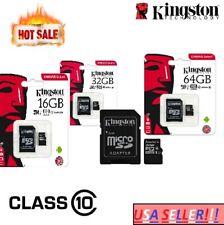 Kingston 16GB 32GB 64GB Micro SD Card TF Class 10