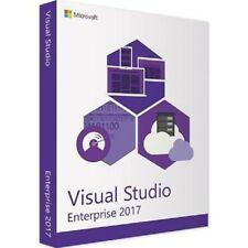 Microsoft Visual Studio 2017 Enterprise Lizenz | LIFETIME- 1 Minute Versand-3PC
