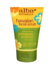 NEW ALBA BOTANICA Hawaiian Facial Scrub Pineapple Enzyme 4 oz