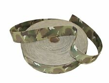"""38mm / 1.5"""" Double Sided Original Crye Multicam Elastic ( Military Webbing MTP"""