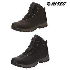 Hi-Tec Mens Eurotrek Lite Waterproof Leather Outdoor Trekking Walking Boots