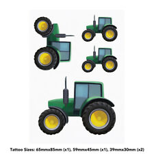 'Tractor' Temporary Tattoos (TO023855)