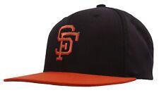 San Francisco Giants Structured Snapback Hat, Black/Orange