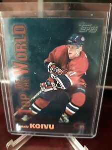 1999-00 Topps Top of the World Saku Koivu #TW2
