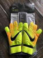 NIKE GK GRIP3 Goal Keeper Soccer Gloves Size 6 Brand New Hook and Loop $70.00