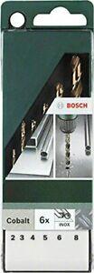 Bosch 2609255087 DIY Drill Bit Set 2/3 / 4/5 / 6/8 mm G High-Speed Steel/Cobalt