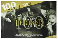100 Greatest Terror Classics DVD Set ~ Over 130 Hours of Terror!