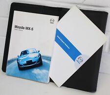 Mazda MX5 - Mk2.5 (NBFL) 01-05 - OWNERS HANDBOOK & WALLET - manual hand book