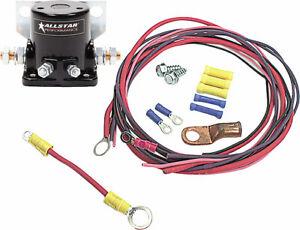 Allstar Performance 76202 Starter Solenoid Kit Ford Style/Wiring in Black