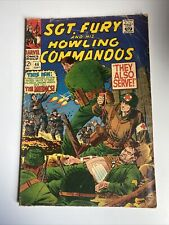 SGT Fury and His Howling Commandos #46 September 1967 MCU Comic Book