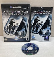 Medal of Honor: European Assault (Nintendo GameCube, 2005) Complete and Tested