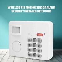 Détecteur mouvement sans fil infrarouge alarme PIR clavier de capteur mouvement
