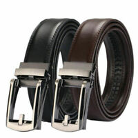 2019 New Automatic Comfort Leather Belt One Click Buckle Brown / Black For Men
