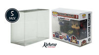 Katana Collectibles Funko Pop Protector Case For POP 2-Pack, 5 Count