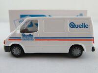 """Rietze 30690 Ford Transit Kastenwagen (1994) """"Quelle / TKD"""" 1:87/H0 NEU/OVP"""