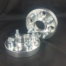 2 X Hub Centric Wheel Spacers 4x100 TO 4X100 56.1 CB 12X1.5 25MM 1 Inch Adapters