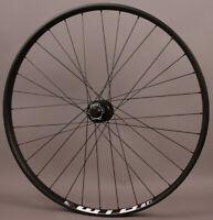 WTB i35 32h Black 29er Mountain Bike Front Wheel 6 Bolt Disc Tubeless Boost