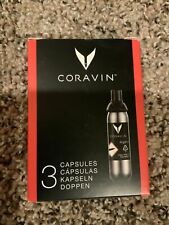 New listing Premium Coravin Capsules 3 Pack Keep your fine wine longer!